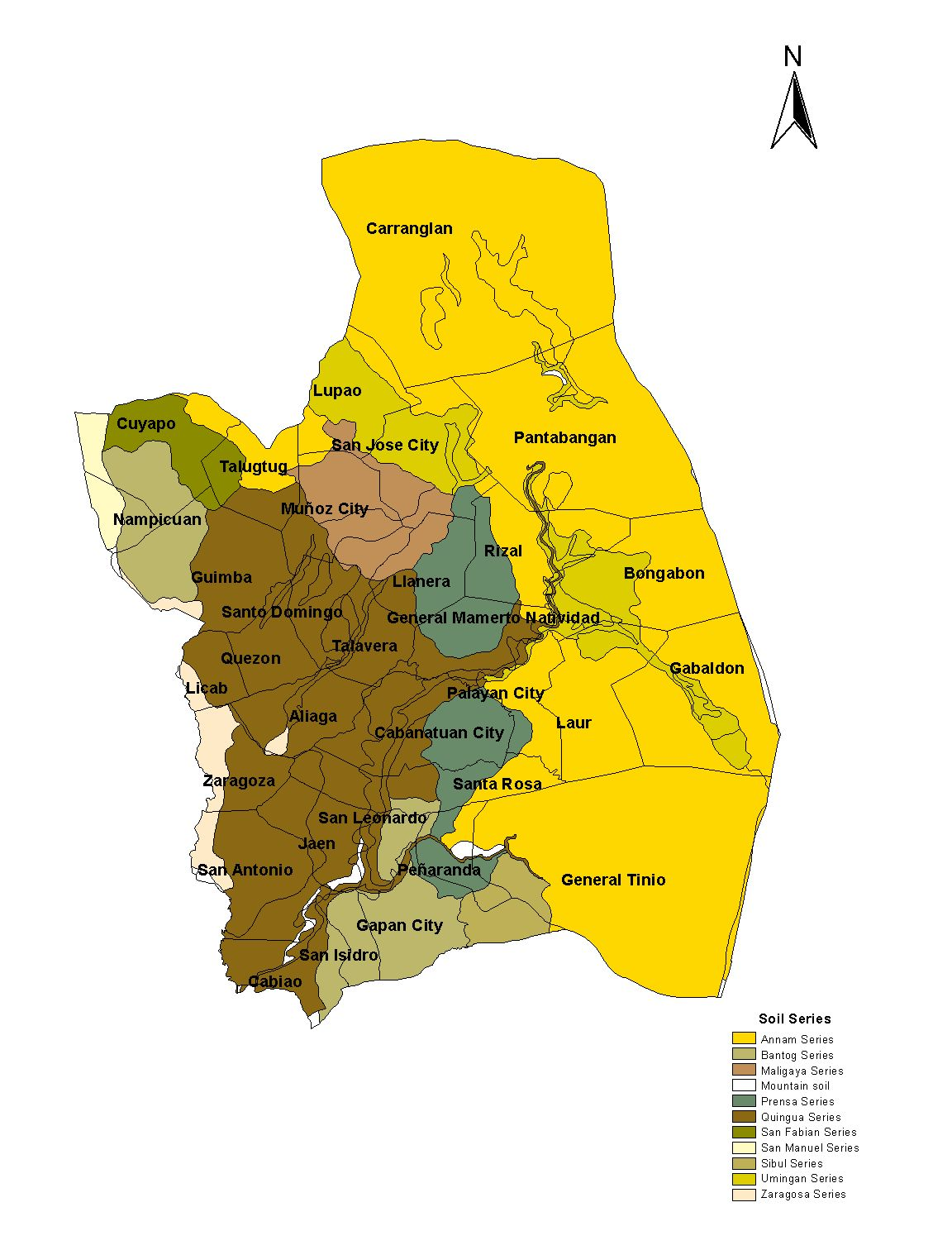PhilRice Soils Information System